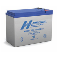 Power Sonic 12v 10.5ahr High Discharge Sealed AGM Battery