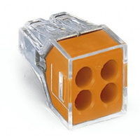 Wago 773 Four Way Push Wire Connector