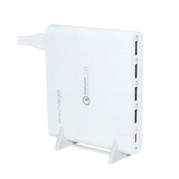 Five Port Quick Charge 3.0 and Power Delivery 80w Charging Station (LS-Q5U)