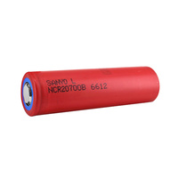 Sanyo 3.6v 4250mah High Discharge Li-Ion Battery (20700B) - TWO FOR ONE!