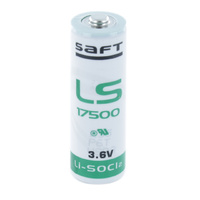 Saft LS17500 3.6v 3600mah A Size Specialised Lithium Battery