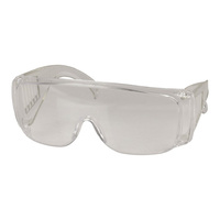 Wrap-Around Clear Safety Glasses