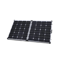 160w Folding Solar Package inc Panels, Controller and Leads