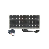 Recreational 80w Solar Panel and Controller Package