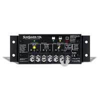 Morningstar SunSaver 4 Stage 12v 10a PMW Solar Controller with LVD