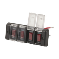 4 Way Switch Bank and Circuit Breaker