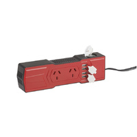 200w Powerboard Style Inverter with 4 x USB and Cigarette Lighter Socket