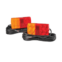 12 LED Slimline Submersible Trailer Lighting Kit
