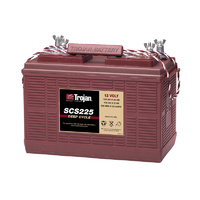 Trojan 12v 130ahr Flooded Deep Cycle Lead Acid Battery (SCS225)