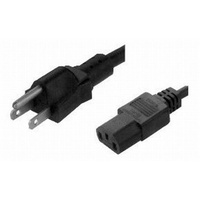 IEC C13 to USA 3 Pin Power Cable (1.8m)