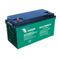 Vision 12v 120ahr 560w High Discharge AGM Sealed Lead Acid Battery