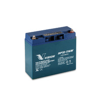 Vision 12v 20ahr 116w High Discharge AGM Sealed Lead Acid Battery