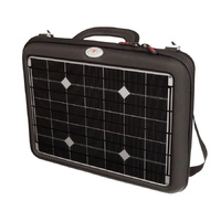 Voltaic Generator 18w Solar Charger Briefcase and 20ahr Power Bank