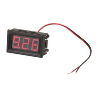 12-24v Simple LED Voltmeter