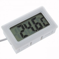 Digital Panel Mount Thermometer and Sensor
