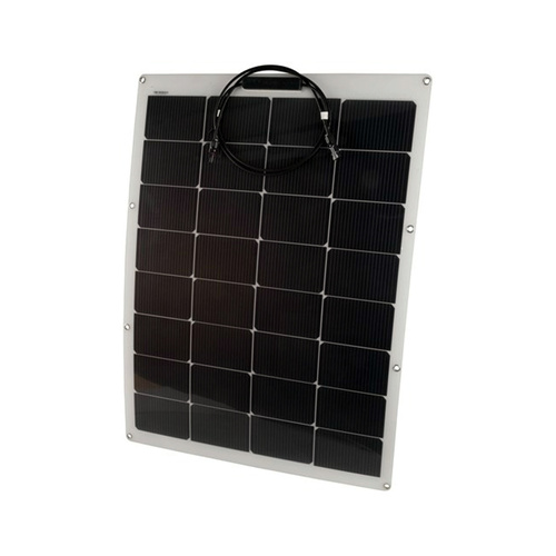 100W 12v Semi Flexible Solar Panel with DF Technology