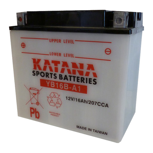 Katana YB16B-A1 Motorcycle Battery