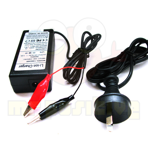 LiFePO4 12v (4cell) 3a Battery Charger (Alligator Clips)