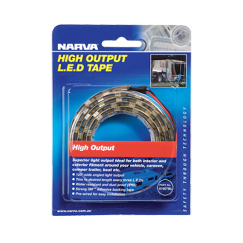 Narva 12v LED Tape Ambient Cool 600mm