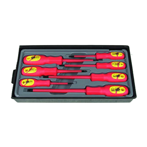 7 Piece Electrical Screwdriver Set – Rated 1t 1000v