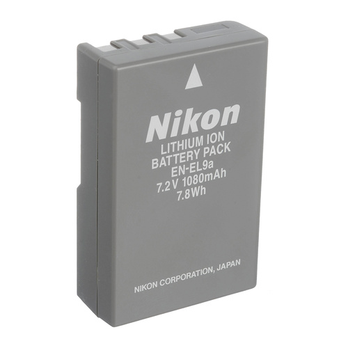 Nikon Genuine EN-EL9A Li-Ion Digital Camera Battery